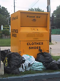 Planet aid clothing boxes - who gets the money ?